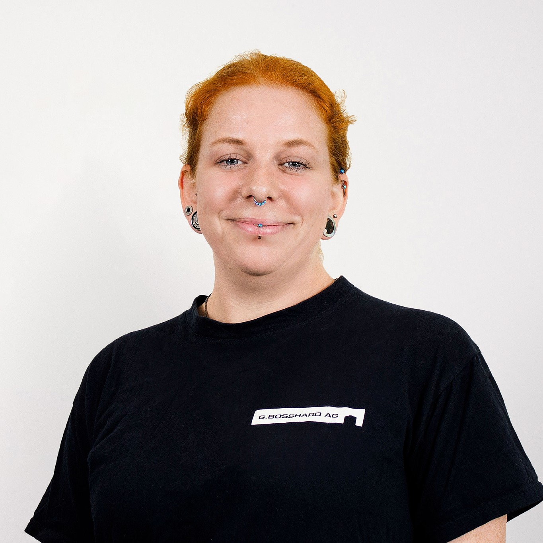 Angela Lauber : Stv. Leiter Liegenschaftsunterhalt